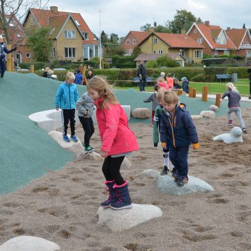 HELLE'S STARFISH PLAYGROUND IN ROSKILDE'S HARBOR PARK HAS OPENED