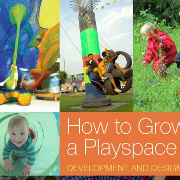HOW TO GROW A PLAYSPACE IS BEING PUBLISHED IN APRIL